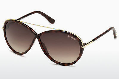 solbrille Tom Ford Tamara (FT0454 52K) - Brun, Dark, Havana