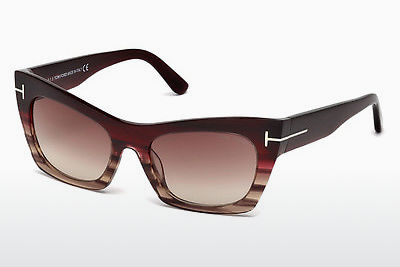 solbrille Tom Ford FT0459 71F - Burgunder, Bordeaux