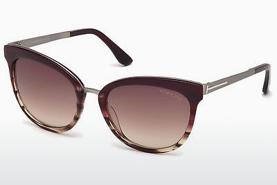 solbrille Tom Ford FT0461 71F - Burgunder, Bordeaux