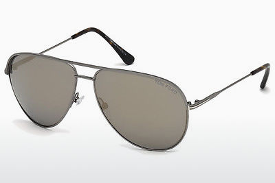 solbrille Tom Ford Erin (FT0466 13C) - Grå, Dark, Matt