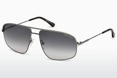 solbrille Tom Ford Justin Navigator (FT0467 13B) - Grå, Dark, Matt