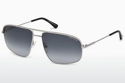 solbrille Tom Ford Justin Navigator (FT0467 17W) - Grå, Matt, Palladium