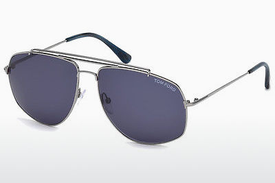 solbrille Tom Ford Georges (FT0496 14V) - Grå, Shiny, Bright