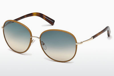 solbrille Tom Ford Georgia (FT0498 60W) - Horn, Horn