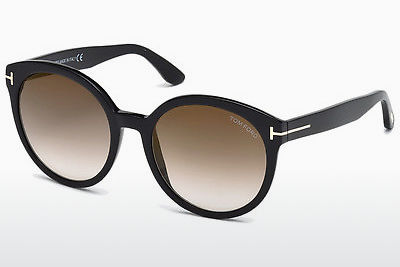 solbrille Tom Ford Philippa (FT0503 01G) - Sort, Shiny