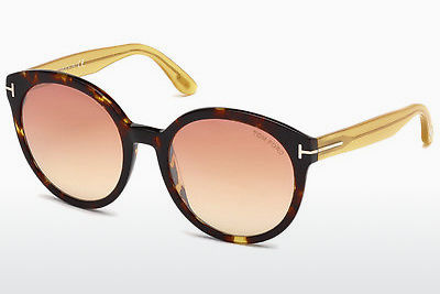 solbrille Tom Ford Philippa (FT0503 52Z) - Brun, Dark, Havana