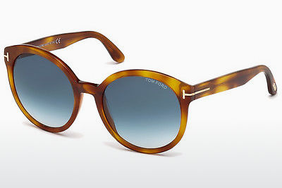 solbrille Tom Ford Philippa (FT0503 53W) - Havanna, Yellow, Blond, Brown