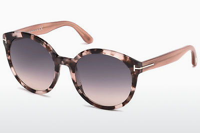 solbrille Tom Ford Philippa (FT0503 56B) - Brun, Havanna
