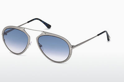 solbrille Tom Ford Dashel (FT0508 12W) - Grå, Dark, Shiny