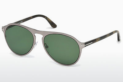 solbrille Tom Ford Bradburry (FT0525 14N) - Grå, Shiny, Bright