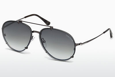 solbrille Tom Ford Dickon (FT0527 08B) - Grå, Shiny