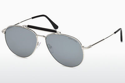 solbrille Tom Ford Sean (FT0536 16C) - Sølv, Shiny, Grey