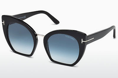 solbrille Tom Ford Samantha (FT0553 01W) - Sort, Shiny