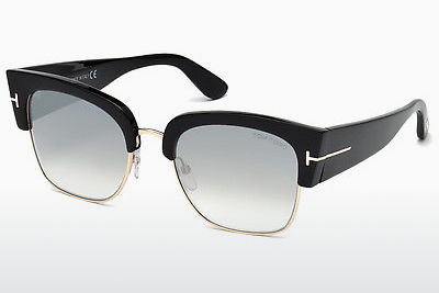 solbrille Tom Ford Dakota (FT0554 01C) - Sort, Shiny