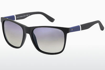 solbrille Tommy Hilfiger TH 1281/S FMA/IC - Sort, Blå, Hvit, Grå