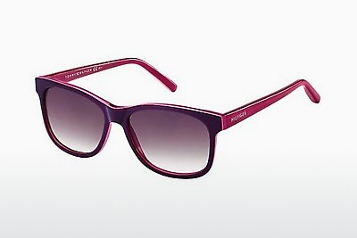solbrille Tommy Hilfiger TH 1985 UCS/J8 - Purpur, Rosa