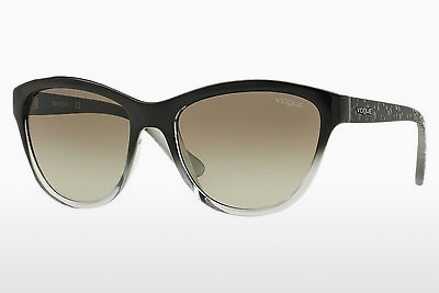 solbrille Vogue VO2993S 18808E - Sort, Grå, Transparent