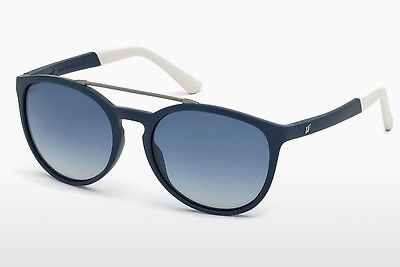 solbrille Web Eyewear WE0183 91W - Blå, Matt