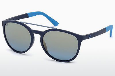 solbrille Web Eyewear WE0183 91X - Blå, Matt
