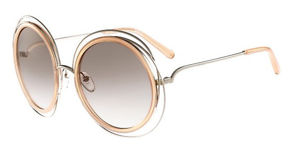 Chloé CE120S 724 GOLD/TRANSPARENT PEACH