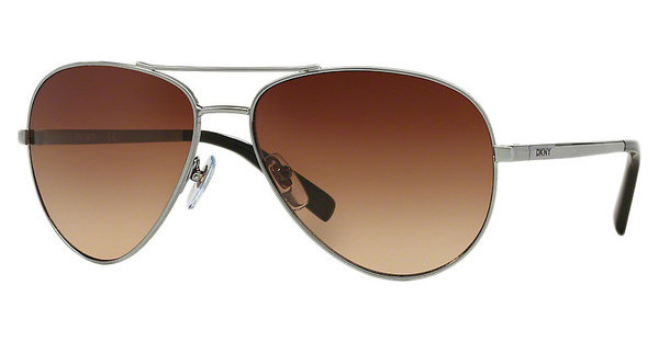 DKNY DY5083 100313 DARK BROWN GRADIENTDARK SILVER