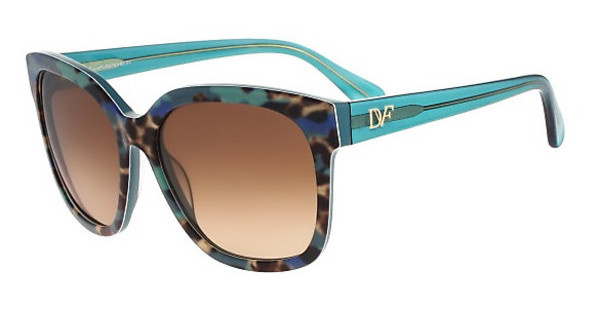 Diane von Fürstenberg DVF602S JULIANNA 320 TEAL ANIMAL