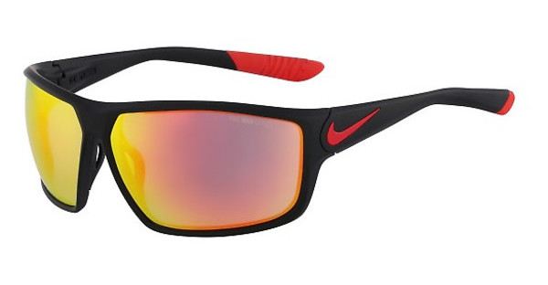 Nike NIKE IGNITION R EV0867 006 MATTE BLACK/CHALLENGE RED WITH GREY W/ML RED FLASH LENS