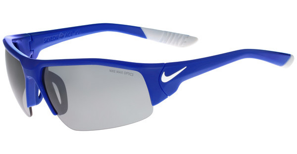 Nike SKYLON ACE XV EV0857 400 GAME ROYAL/WHITE WITH GREY W/SILVER FLASH LENS