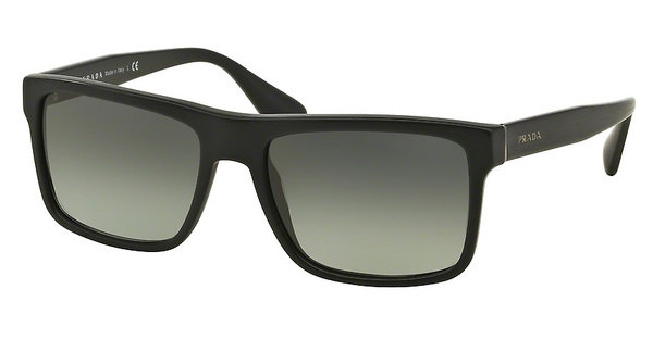 Prada   PR 01SS SL32D0 LIGHT GREY GRADIENT DARK GREYBRUSHED MATTE BLACK