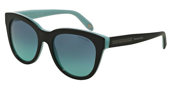 Tiffany TF4112 80559S AZURE GRADIENT BLUEBLACK/BLUE