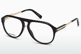 brille Dsquared DQ5242 001 - Sort, Shiny