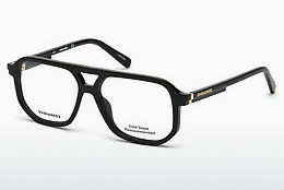 brille Dsquared DQ5250 001 - Sort, Shiny