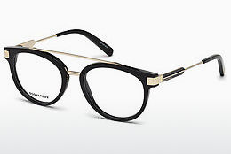 brille Dsquared DQ5261 A01 - Sort, Shiny