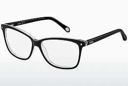 brille Fossil FOS 6011 GW7 - Sort, Grå, Flowers