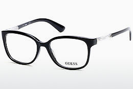 brille Guess GU2560 001 - Sort, Shiny