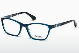 brille Guess GU2594 087 - Blå, Turquoise, Shiny