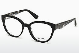 brille Guess GU2651 001 - Sort, Shiny
