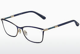 brille Jimmy Choo JC134 J6S - Blå, Gull, Rosa