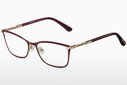 brille Jimmy Choo JC134 J6Y - Rød, Gull, Rosa