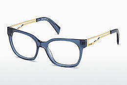 brille Just Cavalli JC0801 090 - Blå, Shiny