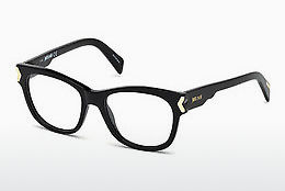 brille Just Cavalli JC0806 001 - Sort, Shiny