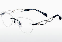brille LineArt XL2105 BK - Sort