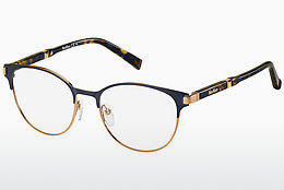 brille Max Mara MM 1254 MF0 - Blå, Gull, Rosa