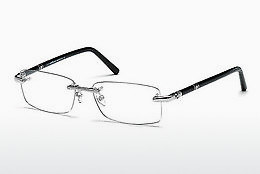 brille Mont Blanc MB0476 016 - Sølv, Shiny, Grey