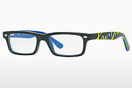 brille Ray-Ban Junior RY1535 3600 - Grå, Blå