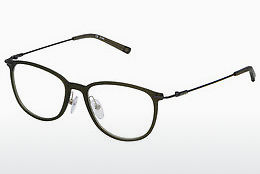 brille Sting VST161 09WD - Grønn, Transparent