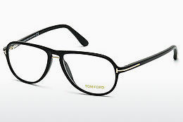 brille Tom Ford FT5380 001 - Sort, Shiny
