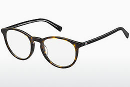 brille Tommy Hilfiger TH 1451 9WZ - Sort, Brun, Havanna