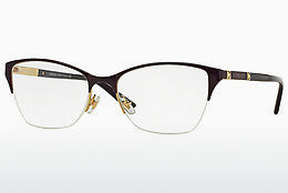 brille Versace VE1218 1345 - Purpur, Gull