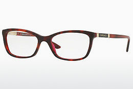 brille Versace VE3186 5184 - Rød, Havanna